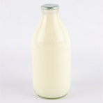 1 Pint Bottle of Whole Organic Milk