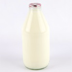 1 Pint Bottle of Semi Skim Organic Milk