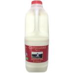 2 Litres Organic Skimmed Milk